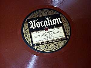 Old Vocalion 78